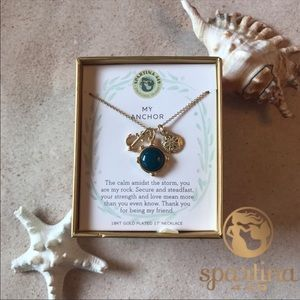 Spartina 449 Triple Charm Necklace